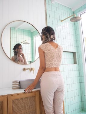 Blush Lace Mia Bralette | Purity Lace Designs