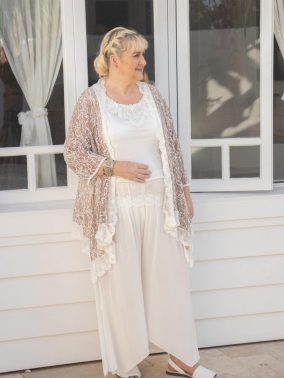 Rebecca Lace Jacket | Purity Lace Designs