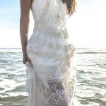 Lacey Cream Frill Top - Purity Lace Designs
