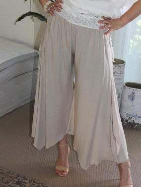 Gatsby Flapper Pants Latte - Purity Lace Designs