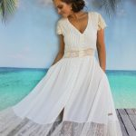 Santorini Dress - Purity Lace Designs