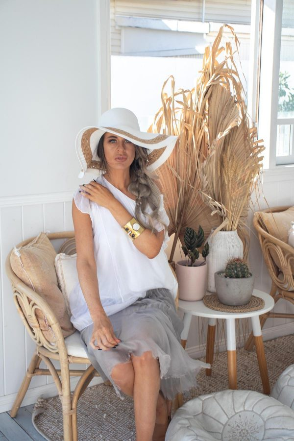 Grace Wide Brim Floppy Hat | Purity Lace Designs